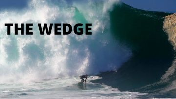 THE WEDGE – BIGGEST WAVES in YEARS | July 4th 2020 | Raw footage